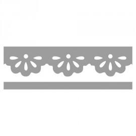 Perforatrice de bordures daisys 1 x 4 cm
