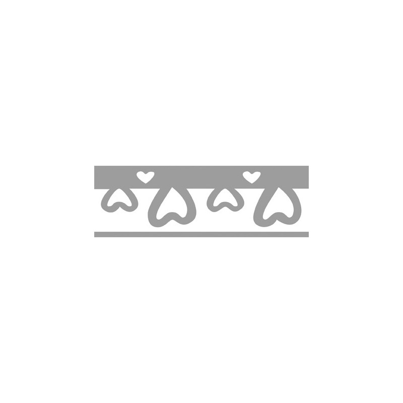 perforatrice bordure coeurs 1x4cm neuf ebay. Black Bedroom Furniture Sets. Home Design Ideas
