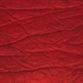 Papier cristal rouge 48x70cm C30
