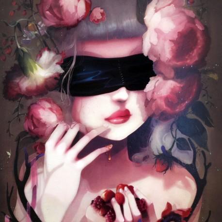 Carte Postale Ludovic Jacqz 14 x 14 cm So tasty