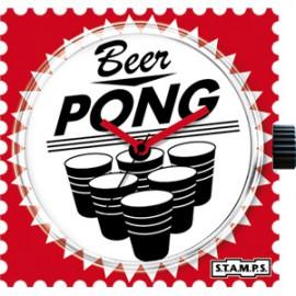 Montre Stamps cadran beer pong