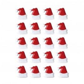 Attaches parisiennes x 20 bonnet de père Noel 1.9 cm