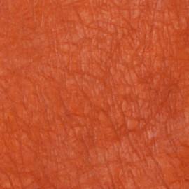 Papier cristal saumon orange brule 130g 48x70cm C21
