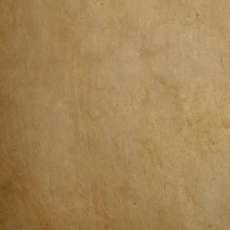 Papier népalais lokta lamaLi marron moutarde papier-fantaise-cartonnage-papier-meuble-carton