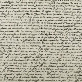 Papier népalais lokta blanc texte français papier-fantaise-cartonnage-papier-meuble-carton