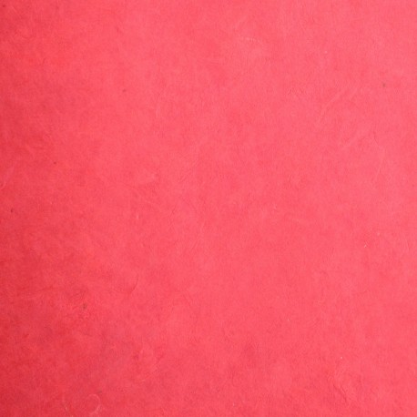 Papier népalais lokta lamaLi rouge papier-fantaise-cartonnage-papier-meuble-carton