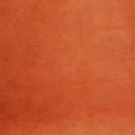 Papier népalais lokta rouille papier-fantaise-cartonnage-papier-meuble-carton