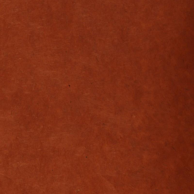 Papier n palais lokta fantaisie terre sienne br l e - Couleur terre de sienne ...