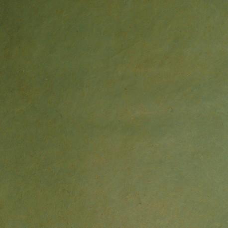 Papier népalais lokta vert bambou papier-fantaise-cartonnage-papier-meuble-carton