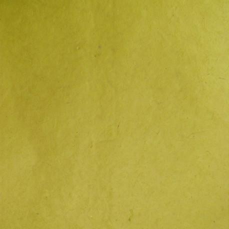 Papier népalais lokta vert olive papier-fantaise-cartonnage-papier-meuble-carton