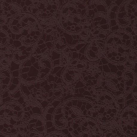 Papier simili cuir calabria violet papier-fantaise-cartonnage-papier-meuble-carton
