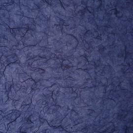 Papier murier bleu foncé silk