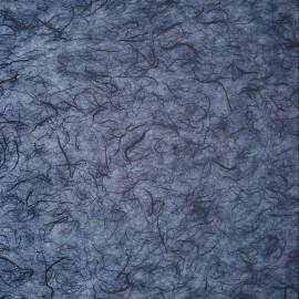 Papier murier bleu marine silk