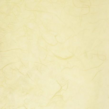 Papier murier jaune clair silk
