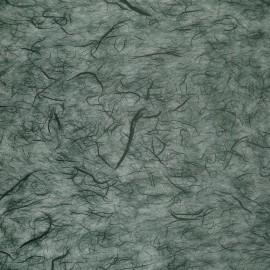 Papier murier vert foncé silk
