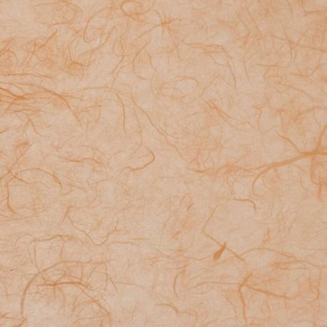 Papier murier orange saumon silk