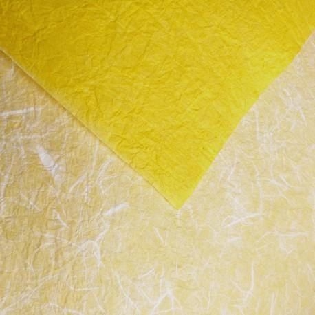 Papier réversible plus jaune blanc