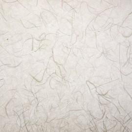 Papier murier royal silk blanc fils argent