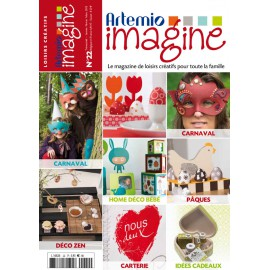 magazine artemio imagine n°22 janv fév mars 2013
