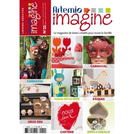 magazine artemio imagine n°22 janv fév mars 2013