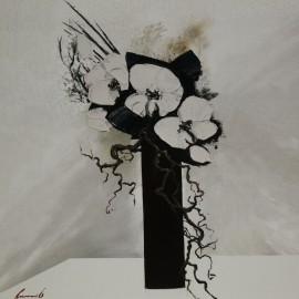 Carte postale olivier tramoni délicatesse d'orchidées II