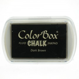 Tampon encreur Chalk dark brown CL71035