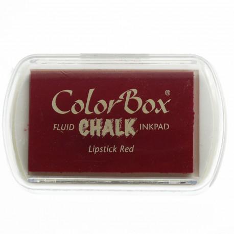 Tampon encreur Chalk lipstick red CL71037