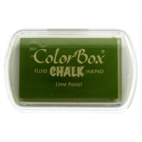 Tampon encreur Chalk lime pastel CL71026