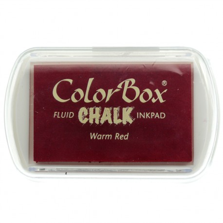 Tampon encreur Chalk warm red CL71017