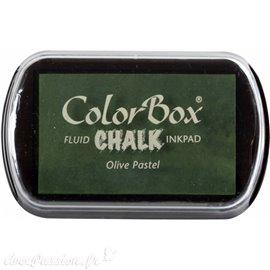 Tampon encreur Chalk olive pastel CL71012