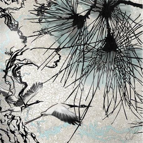 Carte d'art Valie Le Boeuf L'envolée