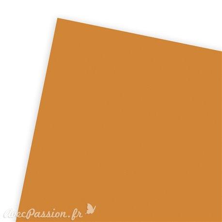Papier uni orange