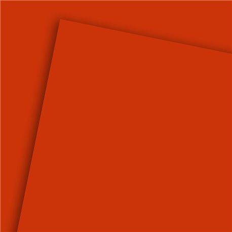 Papier uni rouge