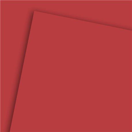 Papier uni rouge vif