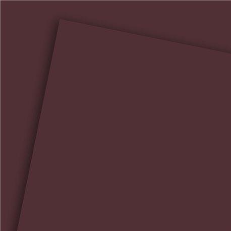 Papier uni marron foncé