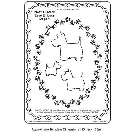 Template PCA gaufrage petit chien