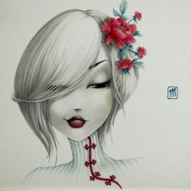 Carte postale Misstigri Yoko