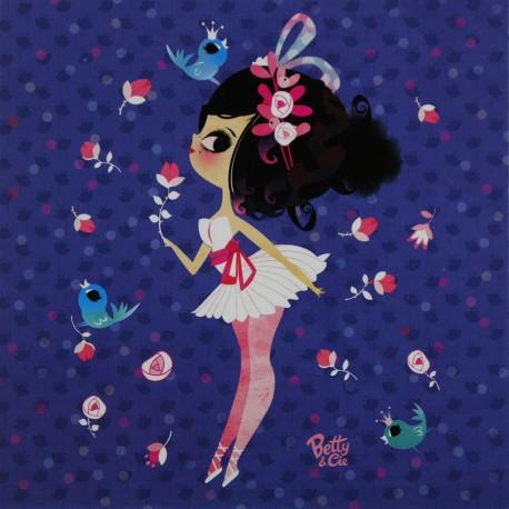Carte postale Lilidoll premières danseuses