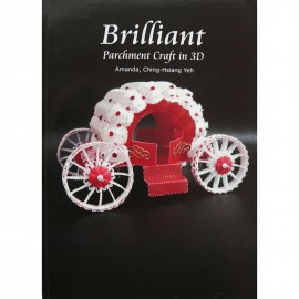 Livre Pergamano Brilliant Parchment Craft de Amanda Yeh