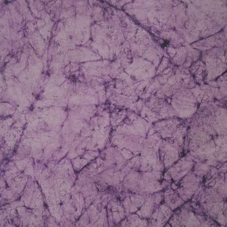 Papier marbré canvas lilas