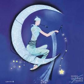 Carte postale Marilyn Roberston paper moon