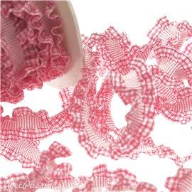 Ruban élastique rose 16mm