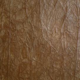 Papier fantaisie cristal marron foncé