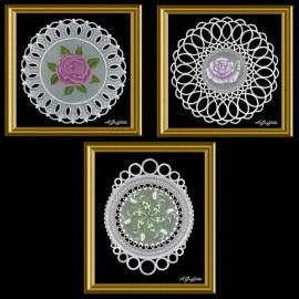 Parchment craft modèle Adèle Miller Wall Decorations patterns