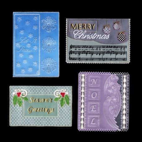 Parchment craft modèle Adèle Miller Christmas Time patterns