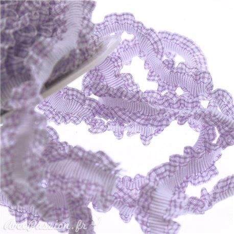 Ruban élastique violet 16mm