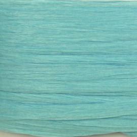 Raphia de papier bleu layette