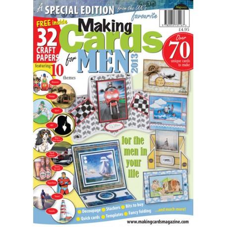 Making Cards magazine for men édition spéciale 2013