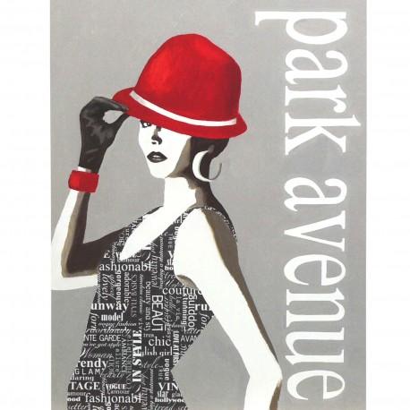 Carte d'art fashion type 4