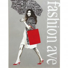 Carte d'art fashion type 2